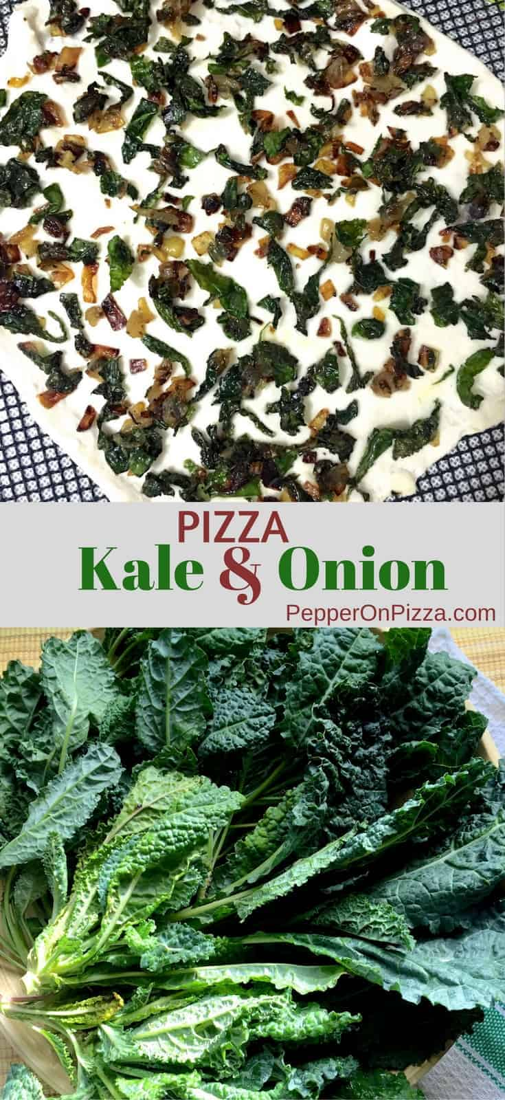 Kale and Onion Pizza_Pepperonpizza.com