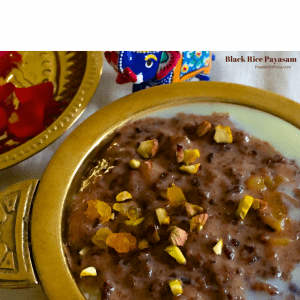Healthy Black Rice Kheer_PepperOnPizza.com
