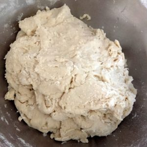 Bring the flour, water, yeast and oil together_PepperOnPizza.com