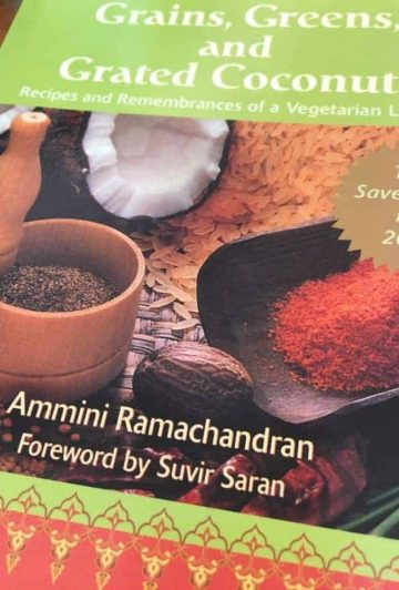 Grains, Greens and Grated Coconuts, the book reviewed in this post