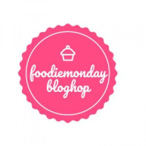Logo for Foodie Monday Bloghop