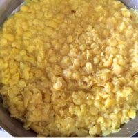 Strain the cooked dal and reserve the dal water